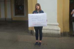 «Человек хорошо делал свою работу и за это пострадал». Петербуржцы — о пикетах в поддержку журналиста Ивана Голунова, обвиняемого в сбыте наркотиков