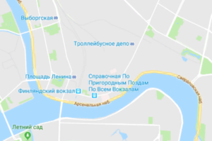 Петербуржцы обожают станцию метро «Троллейбусное депо»: там красивый вестибюль, боулинг и есть поезд до Осло. Жаль, она существует только на гугл-картах
