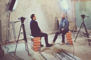 Петербуржец завел блог об открытии своего заведения. Он берет интервью у рестораторов и рассказывает о выборе помещения и кофемашины