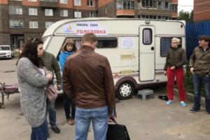 Дольщики ЖК «Ижора парк» начали бессрочную голодовку из-за остановки строительства