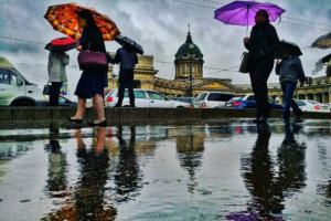 К четвергу в Петербург придут дожди и похолодание