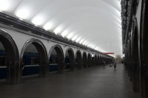 Станция «Академическая» открылась после капитального ремонта. На ней восстановили эскалаторы и поставили новые двери
