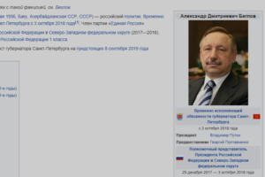 В «Википедии» заблокировали группу авторов, хвалящих власть и ругающих оппозицию. Они писали и о религиозности Беглова