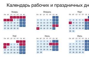 Правительство утвердило календарь праздничных и рабочих дней на 2020 год