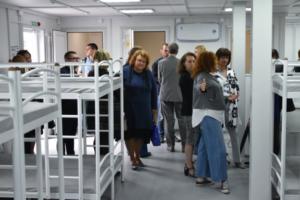 «Ночлежка» открыла круглогодичный приют для бездомных у станции метро «Обухово». Он обошелся в 7,95 млн рублей —  деньги собрали на краудфандинге
