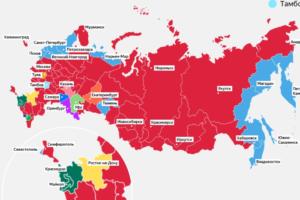 Кто кроме петербуржцев болеет за «Зенит»? «Яндекс» показал на карте, где в России живут фанаты разных футбольных клубов