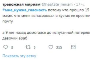 В твиттере запустили флешмоб #мне_нужна_гласность. Тысячи пользователей рассказывают о домашнем насилии и угрозах