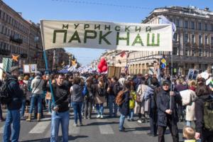 «Если большинство против, это нам не подходит»: Беглов призвал согласовать строительство спорткомплекса от «Анна Нова» с защитниками Муринского парка