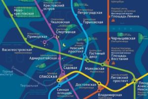 Дизайнеры создали альтернативную карту петербургского метро — с реками, парками и ночными автобусами. Посмотрите, как она выглядит