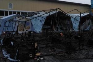 В Хабаровском крае произошел пожар в детском палаточном лагере. Погибли четыре ребенка