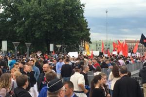 На площади Ленина прошел митинг против произвола на выборах. На него пришли около 3 тысяч человек
