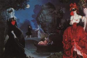 Арлекин, поэт или дама в белом? Пройдите тест и узнайте, на какого героя картин художника Константина Сомова вы похожи