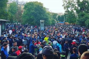 Как в Петербурге отпраздновали Курбан-байрам. Десять фотографий