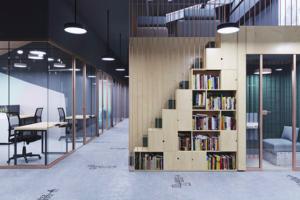 На Васильевском острове откроется пространство «Линии» — с образовательным кластером и кафе. Чем там можно будет заняться и как будет выглядеть проект