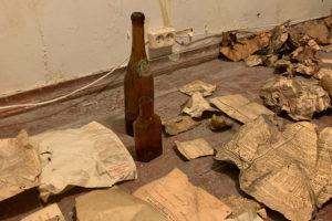 Как в доме Бака обнаружили «тайную комнату» — с документами 100-летней давности, газетами и «очерком о скуке»