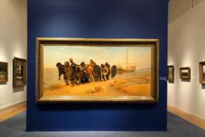 В Русском музее открылась первая за 25 лет масштабная выставка Ильи Репина. Что там можно увидеть