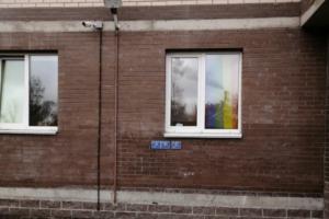 «Почему я должен объяснять своему ребенку, что это»: жильцов квартиры в петербургском ЖК заставили снять радужный флаг с окна из-за жалобы соседей
