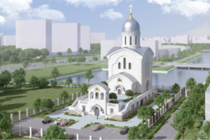 К 2020 году в Петербурге откроют храм и центр психологической поддержки в память о жертвах авиакатастрофы над Синаем. Вот как он должен выглядеть