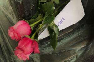 В память о жертвах катастрофы над Синаем возложили цветы в аэропорту Пулково и на Серафимовском кладбище
