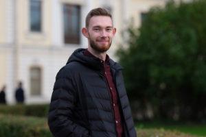 Британец Ник Дарлисон — о петербургской погоде, «Зенит Арене» и сметане  
