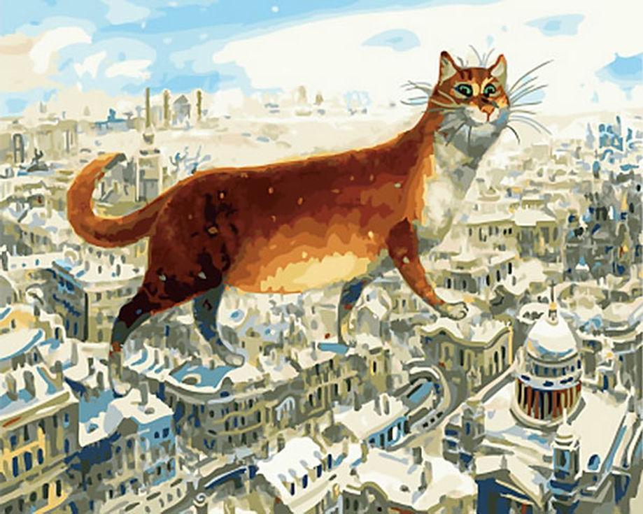 Картинки петербургские коты владимира румянцева, поздравлением крестной