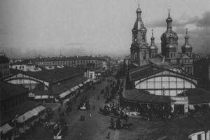 Что покупали в Петербурге начала ХХ века — и сколько это стоило? Овощи с Сенного рынка, мех из магазина на Невском и городские молочные