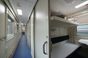Как будут выглядеть вагоны поезда Петербург — Севастополь, который запустят в декабре? В сети опубликовали снимки