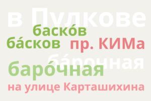 Пулково, Басков переулок и Большая Охта — пройдите тест и узнайте, правильно ли вы произносите петербургские топонимы