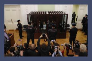 Сегодня в Петербурге вынесли приговор обвиняемым по делу о теракте в метро. Онлайн-трансляция