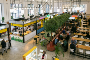 Василеостровский рынок, новые фуд-холлы и пространство «Линии» — пять гидов «Бумаги»