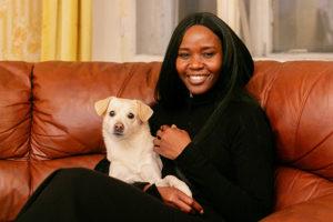 Бина Марачини из Судана — о работе дизайнером в Петербурге, проблемах с документами и улыбающихся пассажирах метро