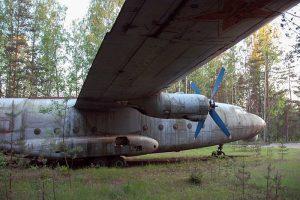 В лесу под Петербургом с советских лет стоит полузаброшенный самолет — и это напоминает фильмы про постапокалипсис. Как Ан-8 стал местной достопримечательностью