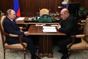Путин предложил назначить главу ФНС Михаила Мишустина премьер-министром России
