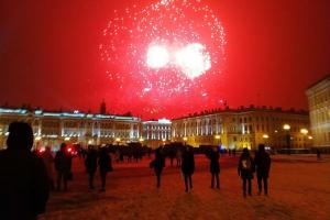Как выглядел салют в честь 76-й годовщины снятия блокады Ленинграда. Посмотрите фотографии очевидцев