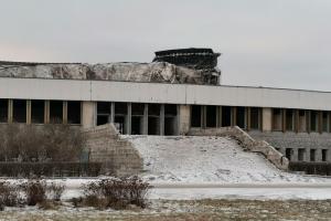 Как выглядит СКК «Петербургский» после обрушения. Десять фотографий