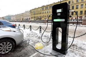 В Петербурге в 2020 году установят 23 станции зарядки для электромобилей. На это потратят 45,5 млн рублей