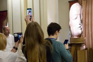 В БДТ открыли памятник Александру Блоку