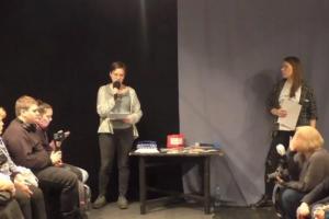 В Интерьерном театре прошли публичные чтения речей фигурантов дела«Сети»