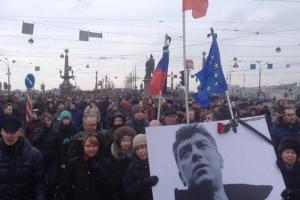 В Петербурге согласовали марш Немцова. Ранее Смольный не одобрил ни один из восьми маршрутов шествия