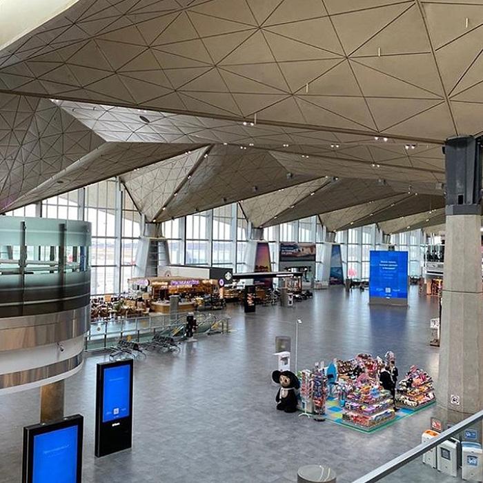 Пулково опустел — зарубежные рейсы из Петербурга отменили из-за коронавируса. Вот как теперь выглядит аэропорт