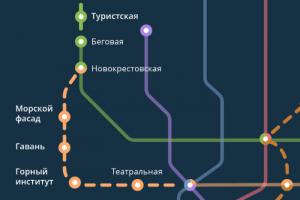Так петербургское метро могло выглядеть в 2020 году — если бы станции открывали вовремя