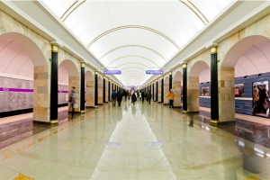 Пассажиропоток в петербургском метро снизился на 25 % на фоне пандемии коронавируса