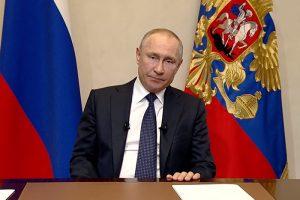 Перенос голосования по Конституции, нерабочая неделя и отсрочки по налогам. Что сказал Путин в обращении к россиянам