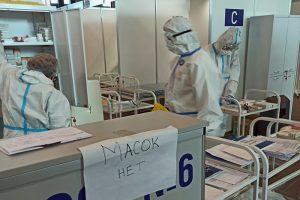 Как устроен временный госпиталь в «Ленэкспо», в котором жалуются на отсутствие лекарств и средств гигиены. Фото, видео и рассказы пациентов