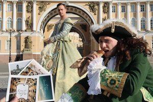Танцы на крышах, косплей Петра Великого и флешмоб в Zoom. Как петербуржцы празднуют День города