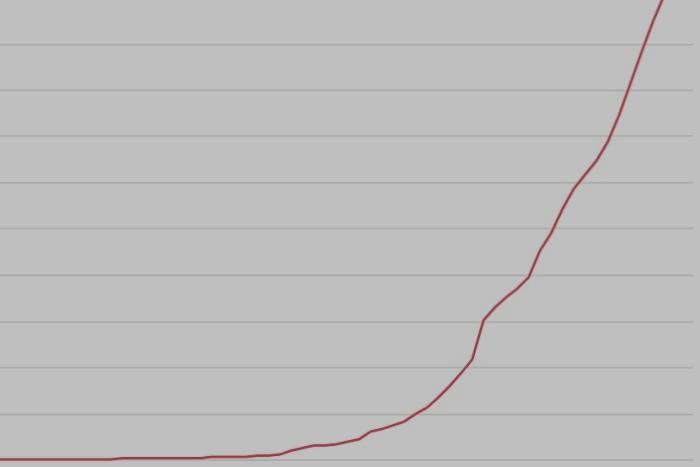 Как растет число заболевших коронавирусом в Петербурге — показываем на графике