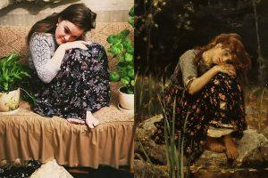Петербурженка в течение месяца воссоздавала произведения искусства. Она рассказывает, как ежедневно придумывала образы по мотивам картин Тициана, Репина и да Винчи