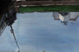 Петербурженка ведет инстаграм, где выкладывает картины с видами Коломны. Она публикует работы Бенуа, Кустодиева и Крестовского