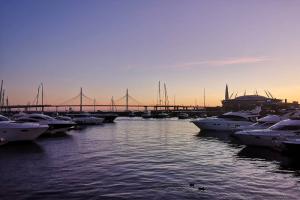 Приставы потребовали от Речного яхт-клуба на Петровской косе освободить акваторию от плавсредств