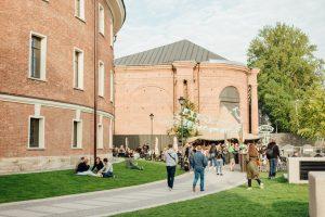 «Новая Голландия» заработает 29 июня. Кафе и бары откроют летние террасы